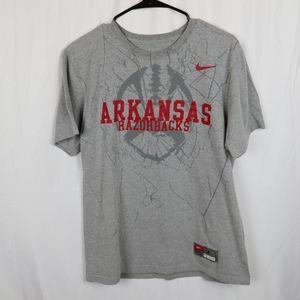 Nike Arkansas Razorbacks Shirt Size Large